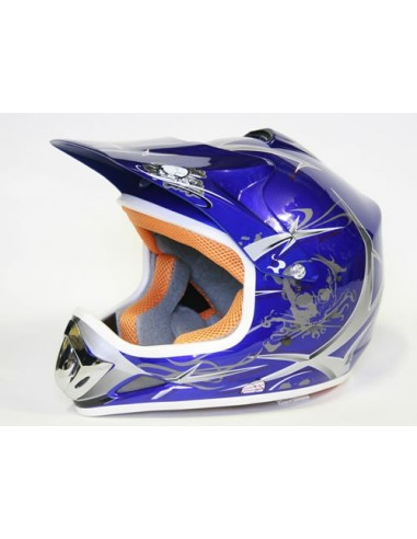 Casco Cross Xtreme Azul