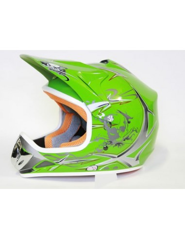 Casco Cross Xtreme  Verde