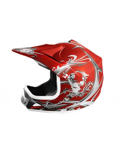 Casco Cross Xtreme Rojo Mate