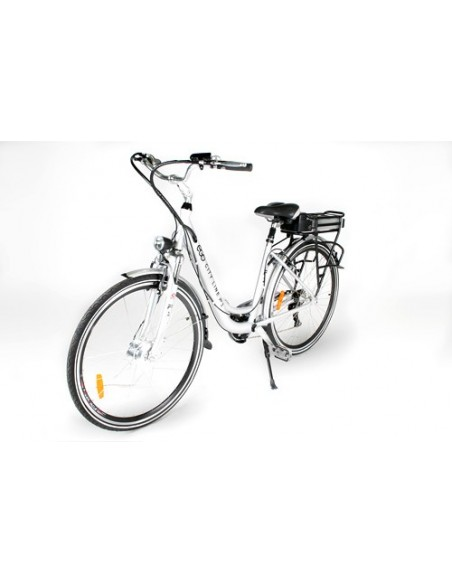 """Bicicletas Eléctricas ego City 250w 26"""" 6 velocidades shimano"""